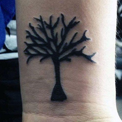 Simple Tattoos For Men On Wrist Tree Best Small Simple 100 Cool Simple Tattoo Designs For Men Men In 2020 Tattoos For Guys Wrist Tattoos For Guys Small Tattoos Simple