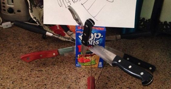 30 Absolutely Hilarious Notes People Left In the Kitchen www.sta.cr/2ttH5