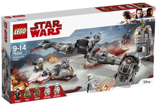 Lego Star Wars Defense Of Crait 2018 75202 746 Pieces New In Box Lego Star Lego Star Wars Star Wars Memes