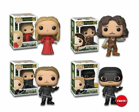 Chase Funko Pop Vinyl Figure terrible Pirate Roberts The Princess Bride