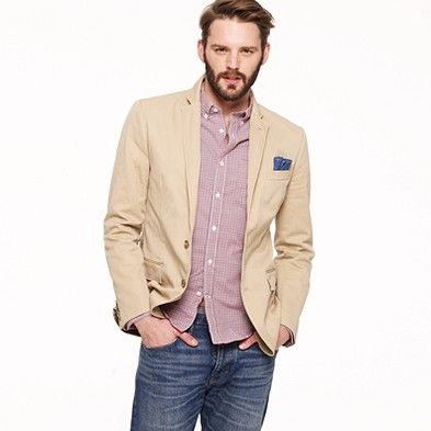 Tailored fit blazer - perfect for jeans: Jcrew Twill, Sportcoats Men S, Men S Sportcoats, Sportcoat Fit, Ludlow Sportcoats, Twill Sportcoat, Sportcoats Vests, Casual Jackets