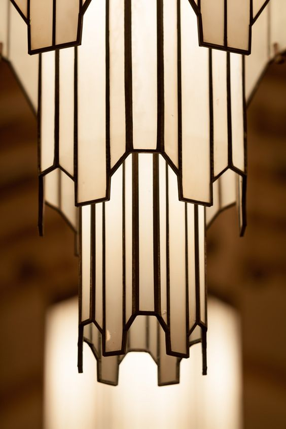 Art Deco Hanging Lamp  Ceiling吊灯  Pinterest  영감, 샹들리에 및 거실