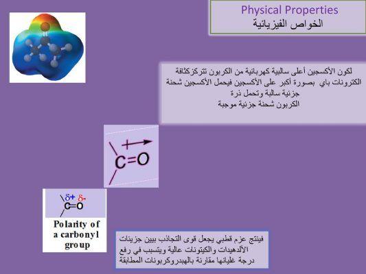 بحث عن مركبات الكربونيل Physical Properties Physics