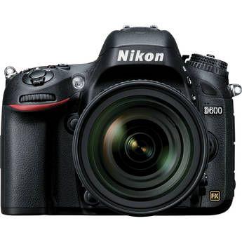 Nikon D600 Digital Camera with 24-85mm f/3.5-4.5G ED VR Lens
