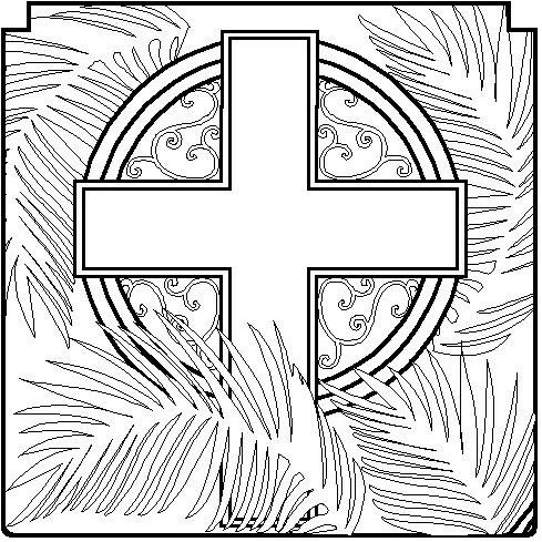 coloring pages palm sunday and holy week on pinterest. Black Bedroom Furniture Sets. Home Design Ideas