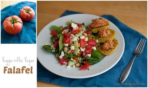 Veggie-riffic Vegan Falafel Recipe, bridgidgallagher.com