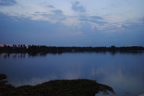 River cauvery evening view