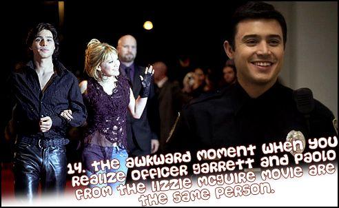 this blew my mind! garrett on pretty little liars = PAOLO from Lizzie McGuire movie!!!! a;fjkd;kaljfadkl;sjfkl;j wtf?