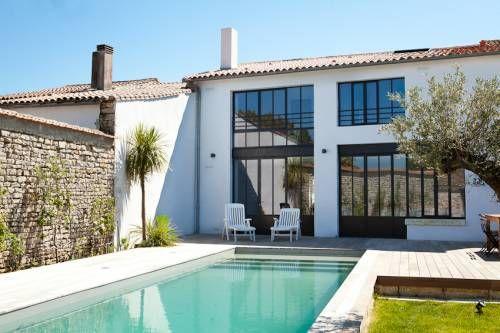 Location ile de Ré : Maison de charme nouvellement rénovée avec piscine