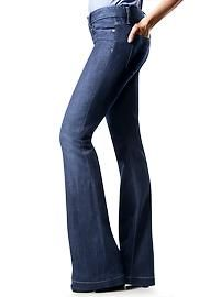 Women's Clothing: Women's Clothing: Long & Lean Jeans | Gap  I am glad to see the waistlines coming up - maybe now the youth of America can tuck that muffin top in! Good job gap!