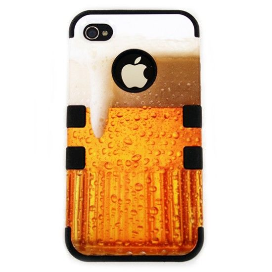 Have one on us... A new way of having a beer on your iPhone. This is the TUFF Hybrid quality made case.