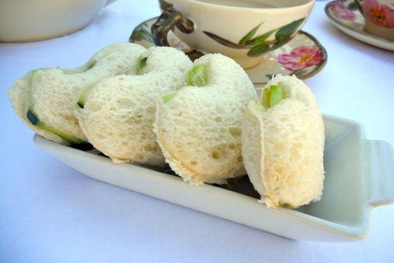 Tea Time! Light Finger Sandwich Recipes