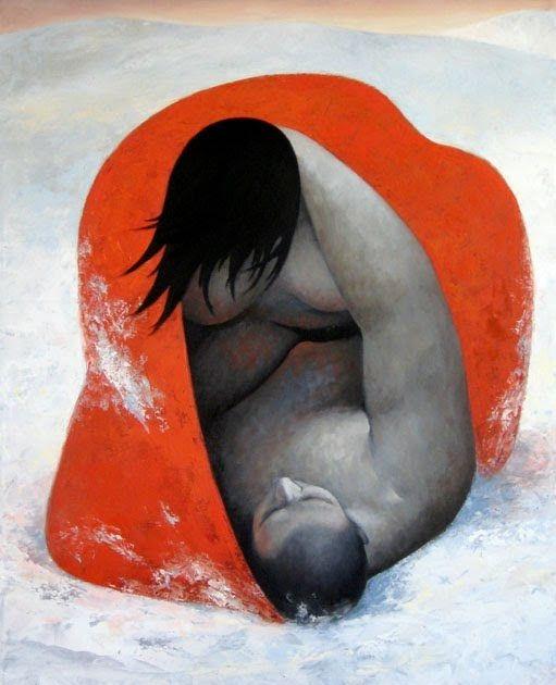 MARGARITA -SIKORSKAIA Vuelvo a recordar esta entrada sobre el invierno. Lawren Harris Natalia Goncharova Kuniyoshi Utag...
