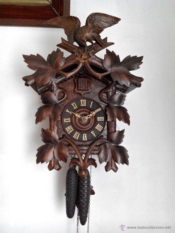 reloj de cuco antiguo reloj de cuco pinterest