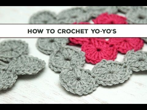 Crochet Yoyo Patterns : How to crochet, Crochet and Learn how to crochet on Pinterest
