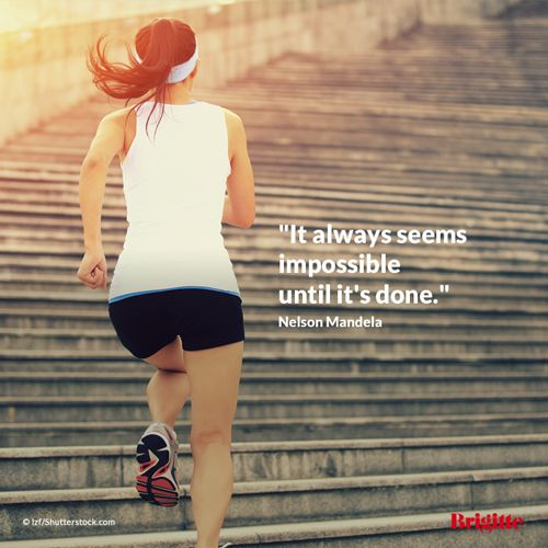 """It always seems impossible until it's done."" Nelson #Mandela"