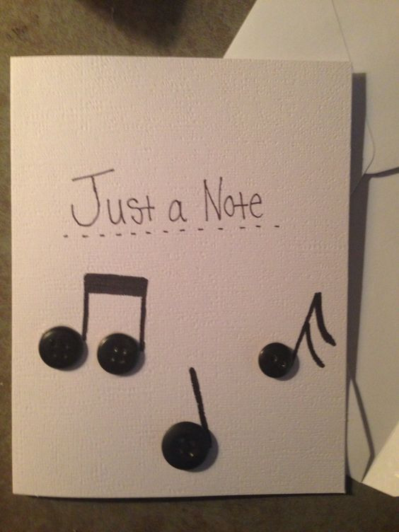A card for the guy who let me borrow his alto clarinet for the summer
