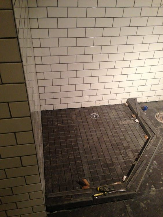 How To Build A Custom Tiled Shower Pan Building A Shower Pan