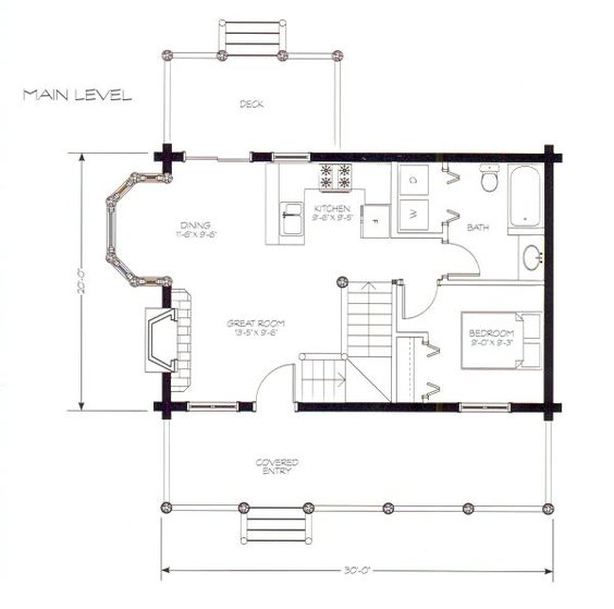 Awesome Small Cabin Floor Plans With Loft 900 Square Feet It Has A Largest Home Design Picture Inspirations Pitcheantrous