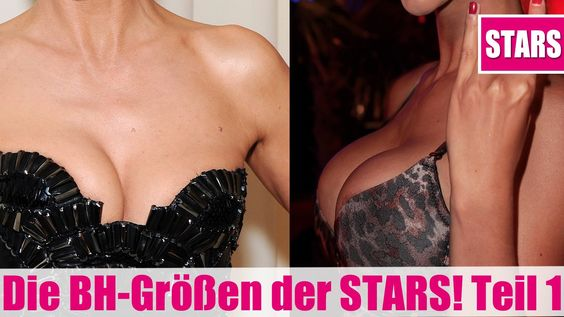 Die BH-GRÖßEN der STARS! Jennifer Aniston, Micaela Schäfer & Co.