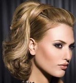 Super 60S Inspired Flipped Ponytail Updo For Alli Pinterest Hairstyle Inspiration Daily Dogsangcom