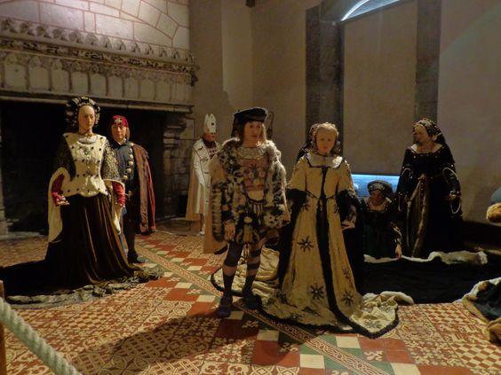 reconstitution en cire du mariage impromptu de la duchesse anne de bretagne avec le roi de - Chateau De Chenonceau Mariage