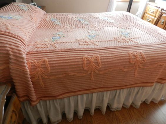 Chenille Bedspread Plush And Bedspreads On Pinterest