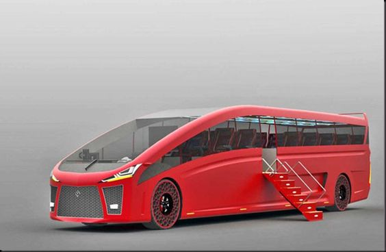 Mach Aerodynamic Bus Concept3