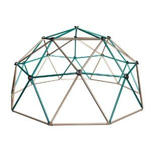 Amazon.com: Lifetime Geometric Dome Climber Play Center (Earthtone): Sports & Outdoors