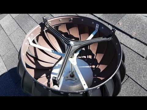 How I Fixed Our Noisy Roof Turbine Ventilator Youtube Roof Vents Roof Vented
