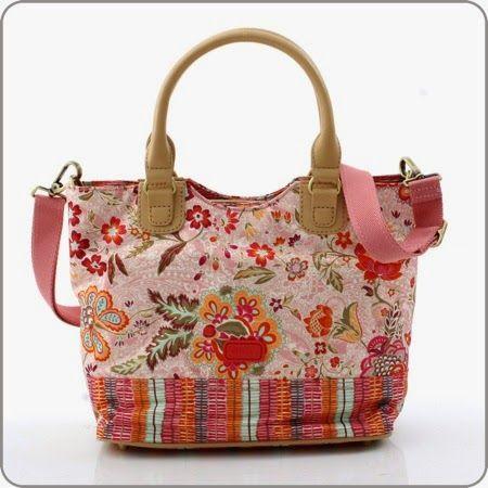 Oilily de Online shop Tasche Summer Blossom Handbag Peach Outlet Umhaengetaschen Sonderangebote ol14b166 1