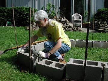 Backyard turtle pond turtle ponds pinterest turtles for Cinder block pond