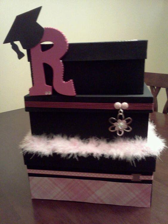 Custom Made Graduation Card Box by WareIsMyMind on Etsy, $30.00