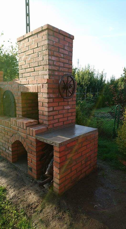 Grill Wedzarnia Piec Chlebowy Kuchnia Pizza Zdun Backyard Backyard Bbq Bbq