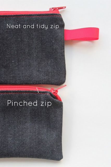 """Sew Delicious: The Trouble with Zips"" This is a fantastic ..."