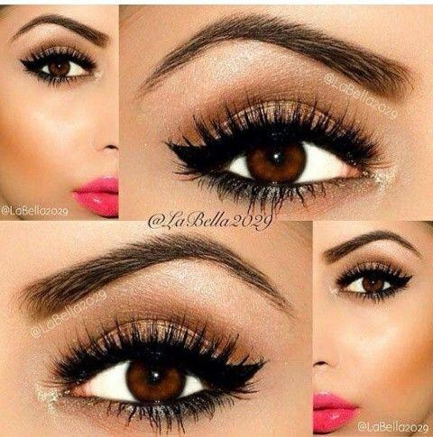 Maquillaje sencillo y claro