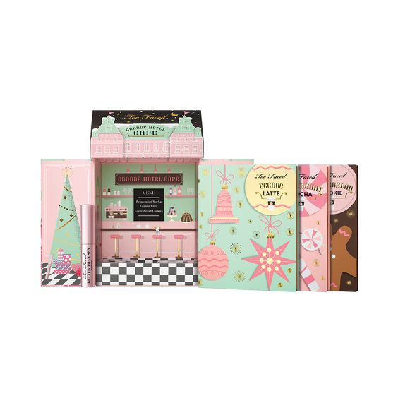 Too Faced 2016 Christmas Collection: Grand Hotel Cafe