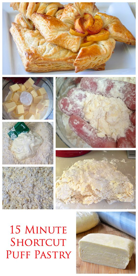 15 Minute Shortcut Puff Pastry | Recette