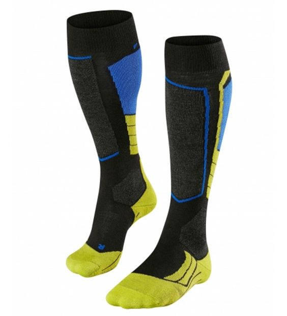 Falke Men's medium volume SK2 Skiing Socks for the advanced skier. The Falke SK2 offers superior comfort and control, excellent thermoregulation and a patented anatomical fit.