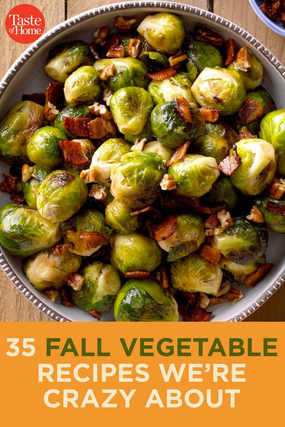35 Fall Vegetable Recipes We're Crazy About