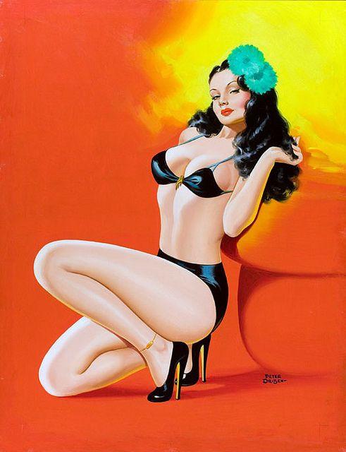 Peter Driben: Pinupgirls, Cartoon Girls, Driben Pin Up, Vintage Pinup, Vintage Pin Up, Pinup Girls, Pinup Art, Driben Pinup, Pin Up Girls