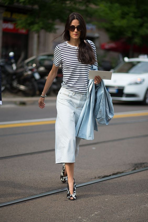 The best summer street style outfits spotted in Milan.