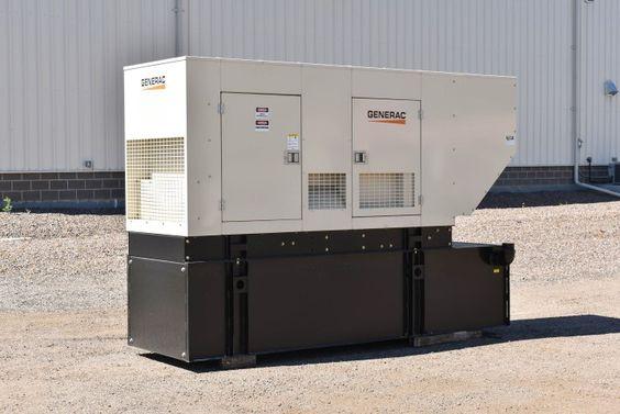 For Sale Unit 70081 Generac 150 Kw Standby Diesel Generator Set Model Idlc150 3ju 25 5 Hours Run Since New Natural Gas Generator Diesel Generators Dry Pack