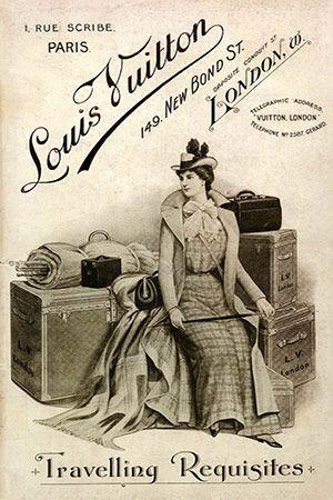 Louis Vuitton Travelling Requisites . 149, New Bond Street, London: