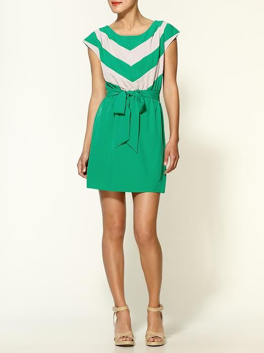 chevron + bow = must have