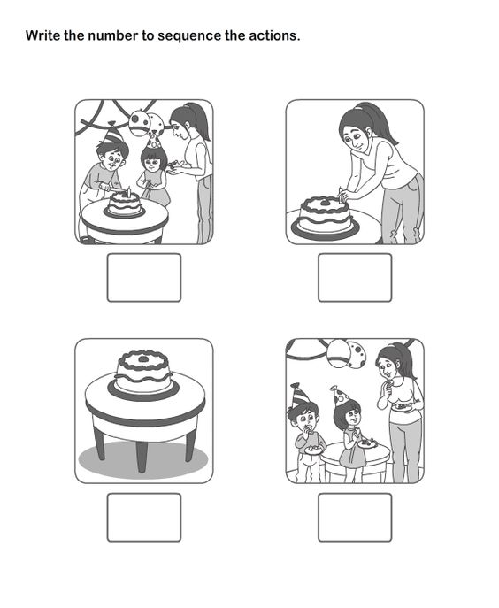 Picture Sequence Worksheet 11 eslefl Worksheets kindergarten – Sequencing Worksheet for Kindergarten