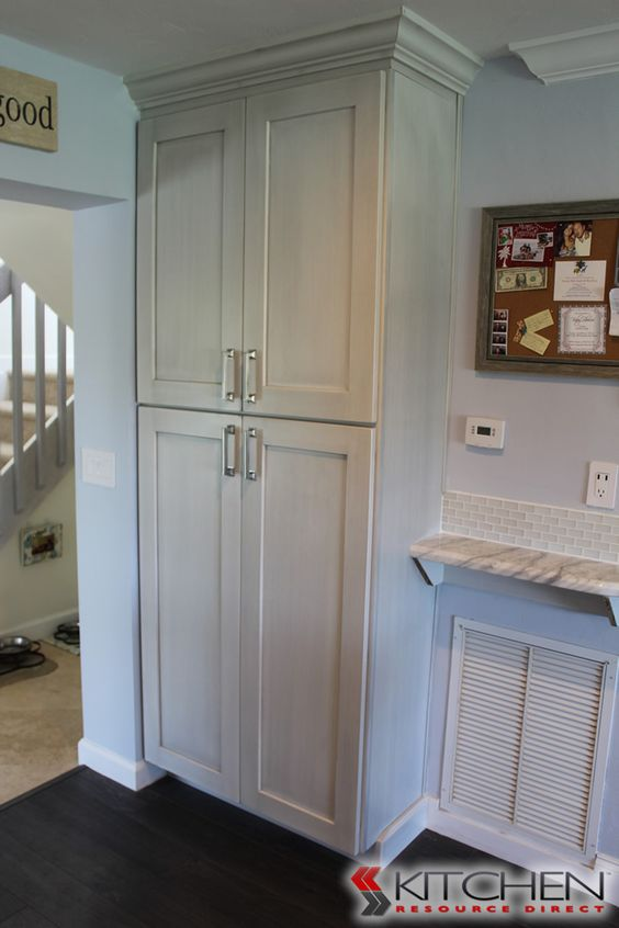 Built In Pantry In Kitchen And Discount Kitchen Cabinets On Pinterest