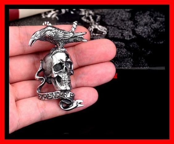 Expendable grote skull Hanger