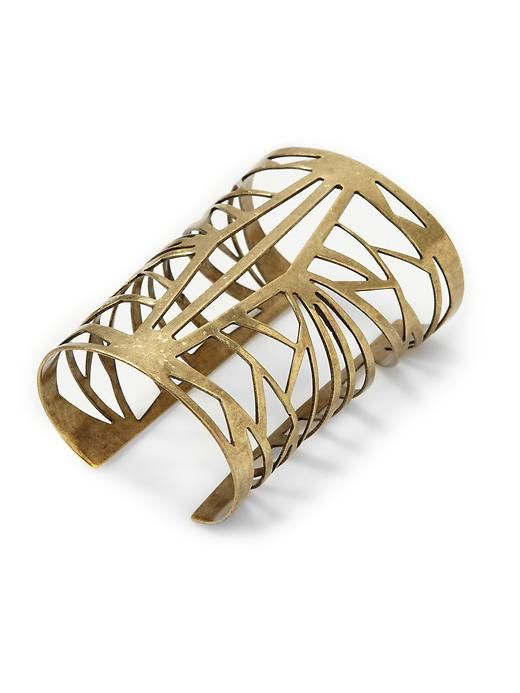 simply fabricated brass cuff: Statement Cuffs, Watches Bracelets, Cuff Bracelets, 22 Hive, Honey Spider, Beautiful Bracelets