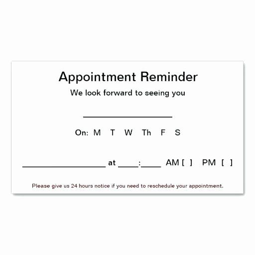 Free Appointment Card Template Elegant Dentist Appointment Card Template Full Size Business Appointment Cards Free Printable Card Templates Card Template